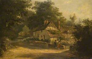 Old Cottages at Petersfield, Hampshire