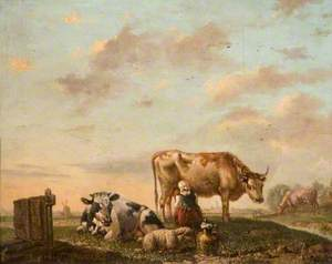 A Dutch Milkmaid