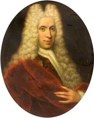 Portrait of a Courtier in a Wig