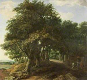 Landscape, the Edge of a Wood