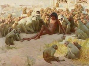 Mowgli Made Leader of the Bandar-log