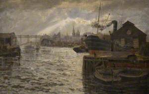 The Tyne with the High Level Bridge, Newcastle