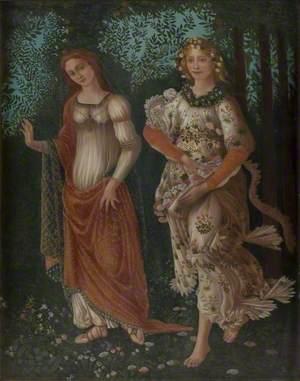 Detail from Botticelli's 'Primavera'