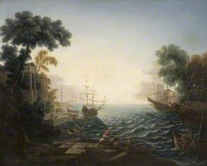 The Embarkation of St Ursula