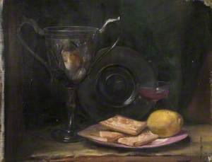 Still Life with Silver Cup