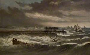 Shipwreck off Tynemouth