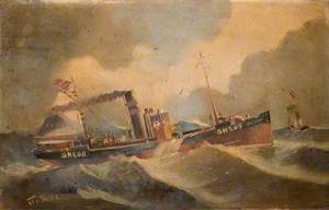 The Trawler 'Ben Lora'