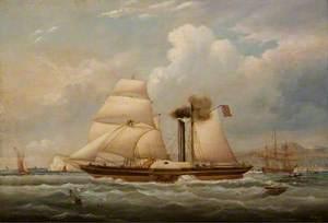 The Paddle-Tug 'Henry Wright'
