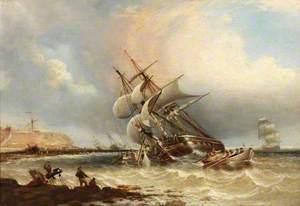 Shipwrecks off the Tyne