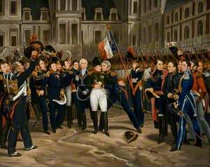 The Departure of Napoleon for Elba
