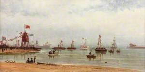 The Opening of the Albert Edward Dock and Port of Tyne