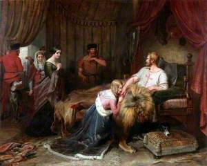 A Scene from Walter Scott's 'The Talisman'