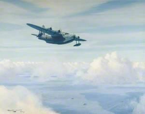 Short Sunderland Flying Boat on Convoy Patrol
