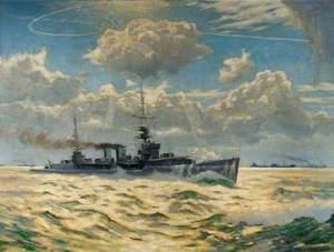 HMS 'Delhi'