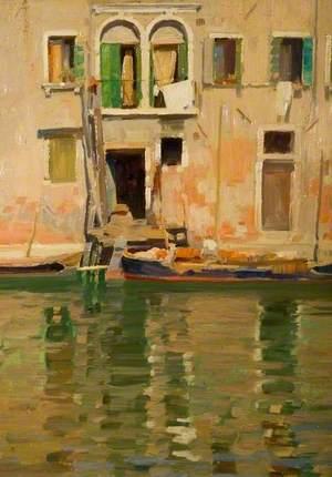 A Fisherman's Home, Venice