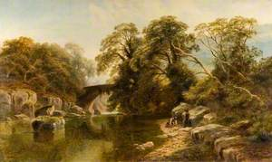 Tributary of the Wharfe, Yorkshire