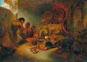 Scene in a Brazier's Shop in Bengal
