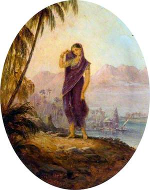 A Hindoo Female of the Deccan and Concane