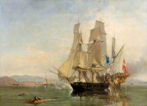 The Action and Capture of the Spanish Xebec Frigate 'El Gamo'
