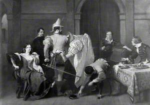 Scene from 'The Taming of the Shrew' by William Shakespeare