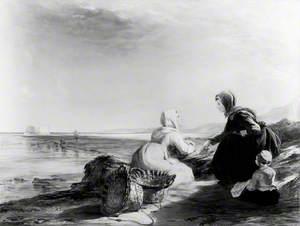 Fisherwomen on the Coast near Boulogne