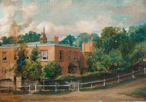 View of Lower Terrace, Hampstead