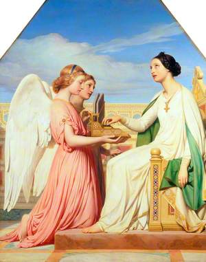 Saint Cecilia and the Angels