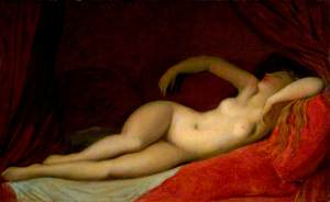 A Sleeping Odalisque