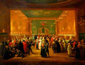 A Masquerade at the King's Theatre, Haymarket