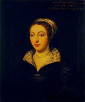 Joan Champernonne (b.c.1520), Daughter of Sir Philip Champernonne of Modbury, Devon, and Widow of Sir Anthony Denny