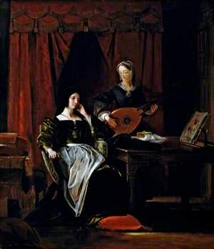 Queen Katherine and Patience