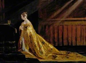 Queen Victoria (1819–1901), in Her Coronation Robes