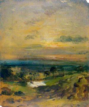 Branch Hill Pond, Evening