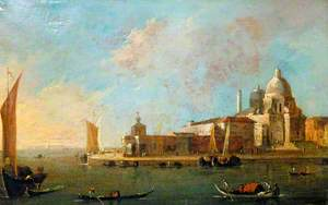 Venice: View of Santa Maria della Salute and the Dogana