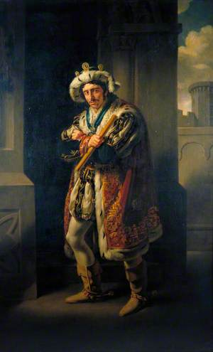 Edmund Kean (1787–1833), as Richard in 'Richard III' by William Shakespeare