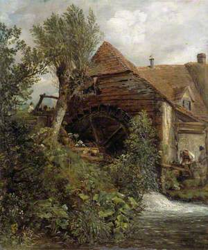 A Watermill at Gillingham, Dorset