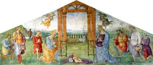 The Nativity: The Virgin, Saint Joseph and the Shepherds Adoring the Infant Christ