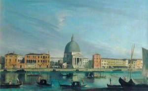 Venice: San Simeone Piccolo, on the Grand Canal