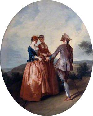 Cavalier and Two Ladies