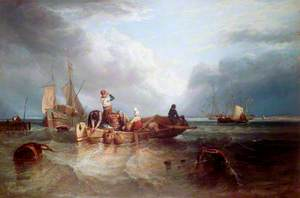 A Market Boat on the Scheldt