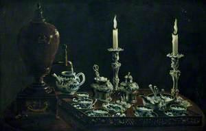 Tea Service on a Tray
