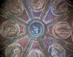 Ceiling from the Casa Maffi, Via Belvedere, Cremona