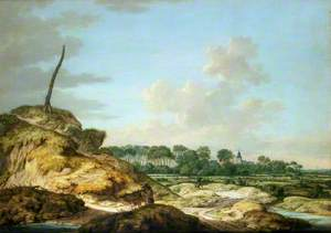 A View of the Island of Walcheren, with the Castle of Westhoven