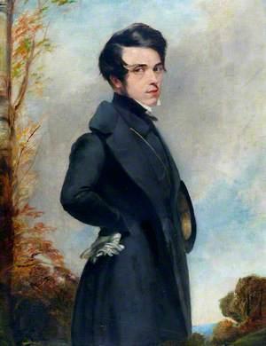 Portrait of a Man in a Black Frock Coat