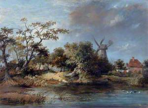 Ponds and a Windmill, Hastings