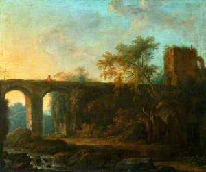 Landscape with a Bridge and a Tower