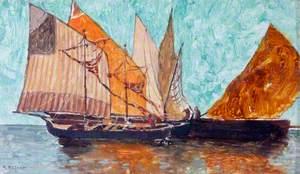 Sailing Boats at Chioggia, near Venice