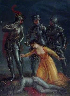 Scene from William Shakespeare's 'Henry VI'