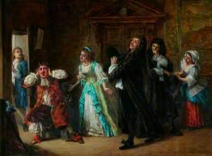 Scene from Molière's 'Le Medecin Malgré Lui'