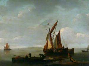 Sea Piece with Fishing Boats
